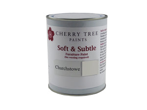 Cherry Tree Paints Churchstowe Grey Soft & Subtle Decor Paint