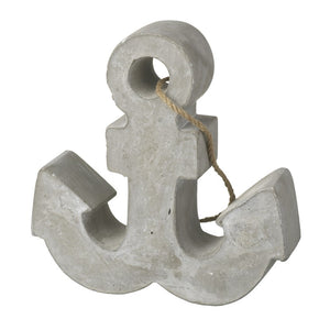 Nautical Concrete Anchor Doorstop / Weight