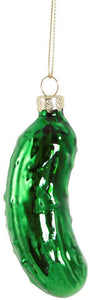 Glistening Gherkin Pickle Christmas Tree Ornament by Sass & Belle