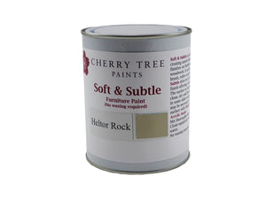 Cherry Tree Paints Heltor Rock Taupe Soft & Subtle Decor Paint