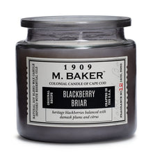 M Baker Colonial Candles of Cape Cod Large 14oz Blackberry Briar Apothecary Candle