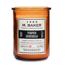 M Baker Colonial Candles of Cape Cod Large 8oz Pumpkin Shortbread Harvest Special Candle