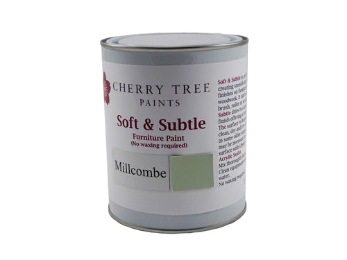 Cherry Tree Paints Millcombe Green Soft & Subtle Decor Paint