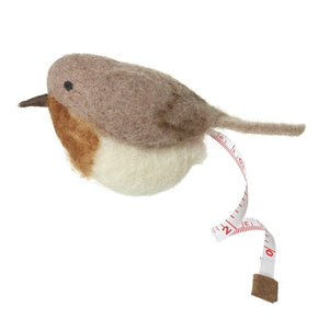 Felt Robin Bird Shaped Sewing and Needlecraft Tape Measure
