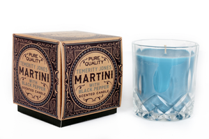 Gentlemens Club Black Pepper Martini Pepper & Birch Leaf Whisky Tumbler Scented Candle-The Useful Shop