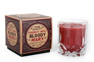 Gentlemens Club Bloody Mary Tomato Scented Whisky Tumbler Candle-The Useful Shop