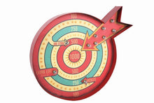 Bullseye Fun Target Metal Funfair Carnival Wall Sign Light by Temerity Jones London-The Useful Shop