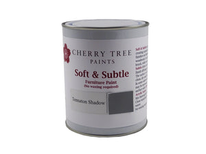 Cherry Tree Paints Tennaton Shadow Grey Soft & Subtle Decor Paint
