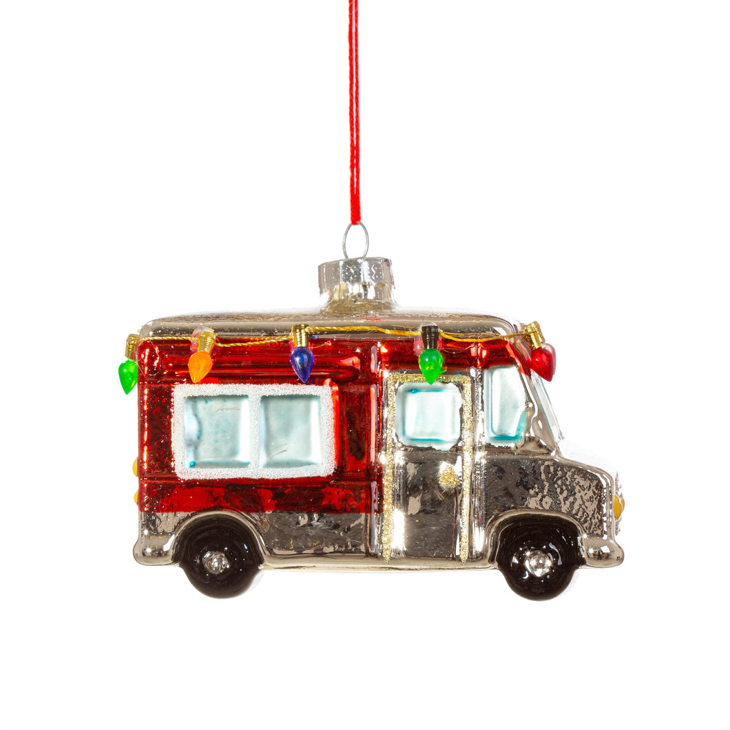 Retro Motor Home Christmas Tree Bauble Ornament by Sass & Belle