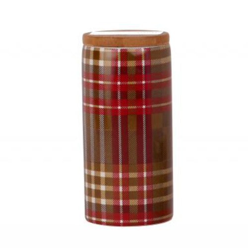 Paddywax Tartan Collection Wassail & Spice Ceramic Soy Wax Candle