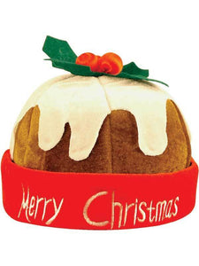 Christmas Pudding Merry Christmas Novelty Hat
