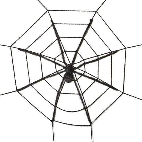 Heaven Sends Halloween XL Spider & Web Wall Decoration-The Useful Shop