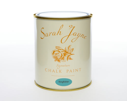 Sarah Jayne Signature Chalk Paint 1 Litre  - Country Range Kingfisher
