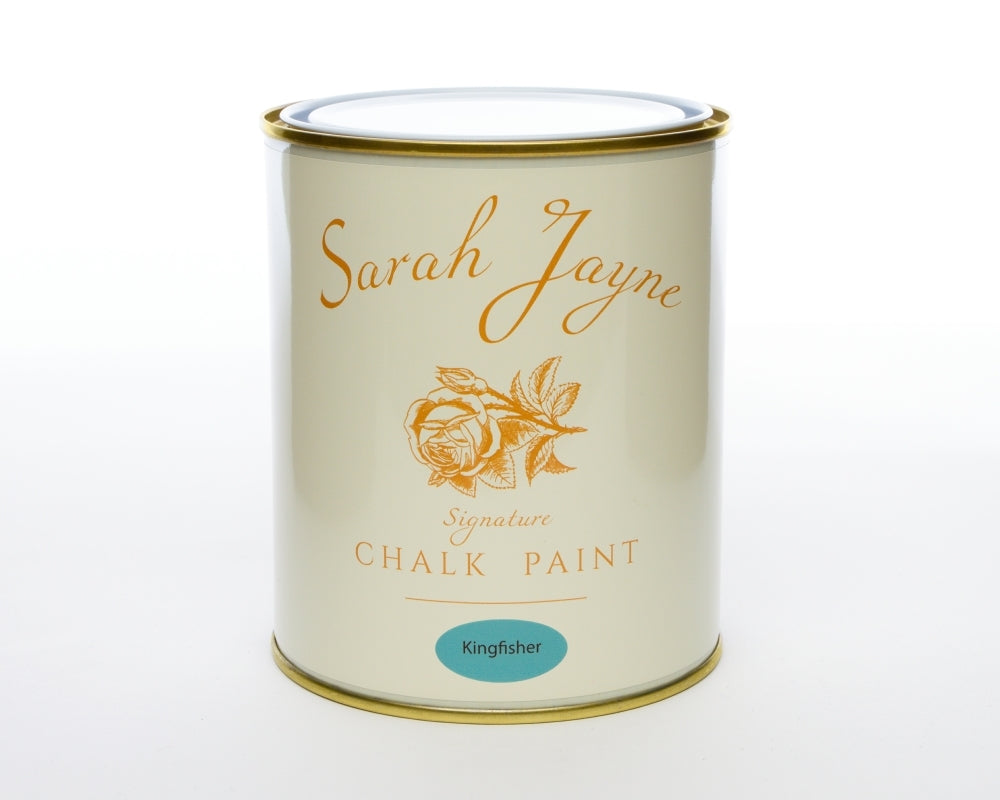 Sarah Jayne Signature Chalk Paint 1 Litre - Country Range Kingfisher-The Useful Shop