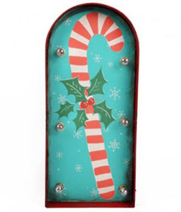 Christmas Candy Cane Carnival Style LED Light by Temerity Jones-The Useful Shop