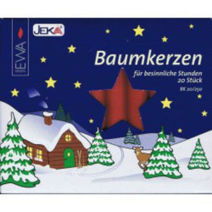 Wine Red Traditional Christmas Tree Chime Candles Baumkerzen-The Useful Shop