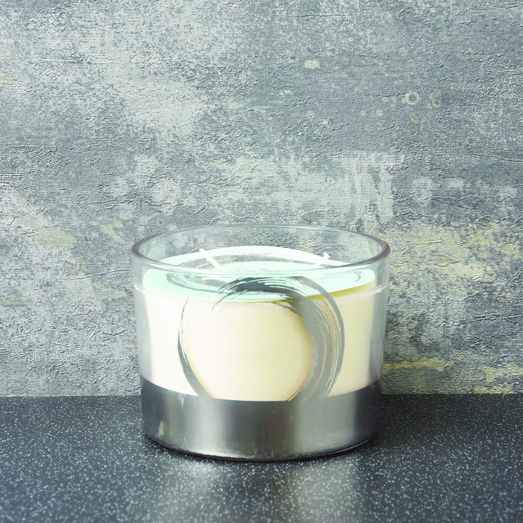 Spa Day Revitalise Large 2 Wick Candle Green Tea Fragrance by Candlelight