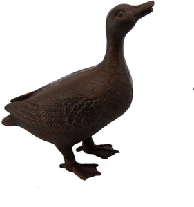 Cast Iron Mrs Duck Garden Ornament by Ascalon
