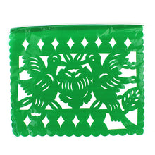 Plastico Picado Authentic 'Chopped Paper' Mexican Fiesta Party Flower Bunting