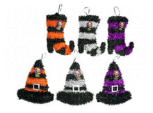 Halloween Boots and Hats Decorations