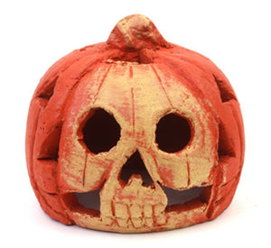 Mexican fairtrade pottery pumpkin Large