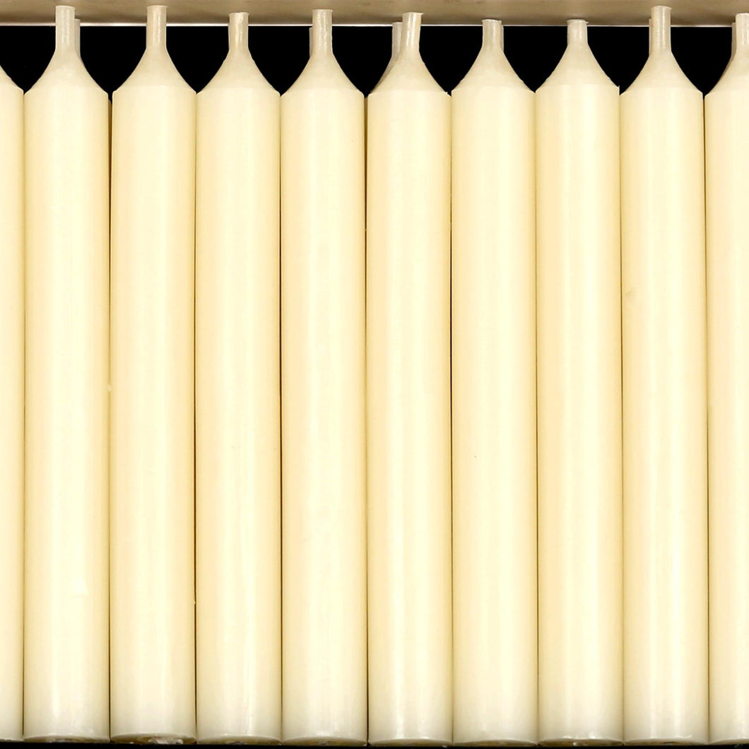 Pack of 20 Ivory Traditional Christmas Tree Chime Candles Baumkerzen