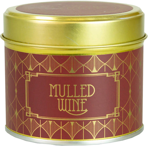 Country Candle Mulled Wine Happy Hour Luxury Tin Candle