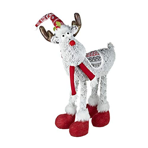 Large Fun Reindeer Freestanding Christmas Display Ornament