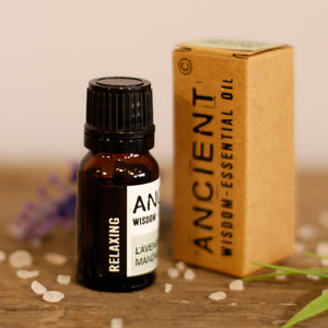 Premium Aromatherapy Blends - Relaxing Oil 3 x 10ml for Sleep and Relaxation