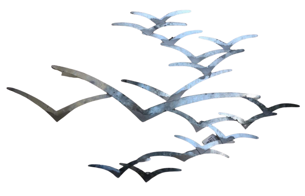 Stylish Sea Bird Metal Wall Art by Shoeless Joe