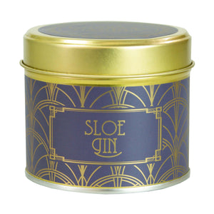 Country Candle Sloe Gin Happy Hour Luxury Tin Candle