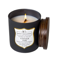 Manly Indulgence Vintage Oak Grey Large 15oz Jar Luxury Candle by Colonial Candle Lit