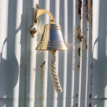 Classic Solid Brass Yacht Bell - Interior or Exterior Use