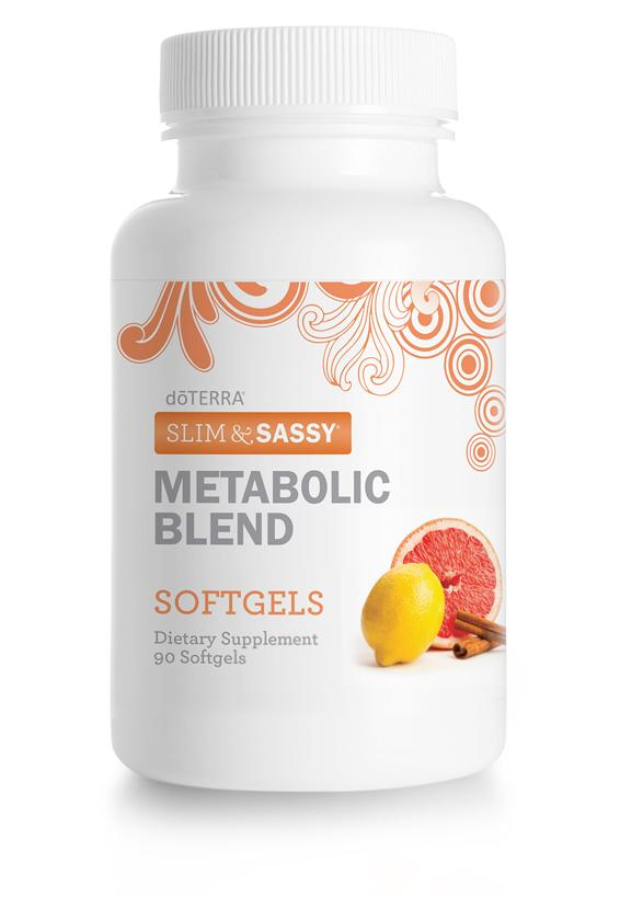 dōTERRA Slim and Sassy® Metabolic Blend Softgels (NFR)
