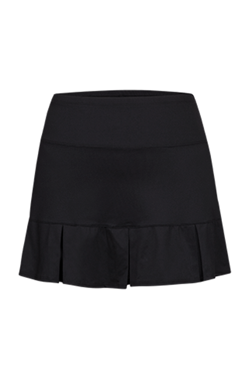 Doral Pleated Skort - Black - 14.5