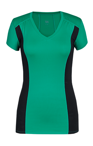 Peace Short Sleeve Top - Sea Glass Green - FINAL SALE