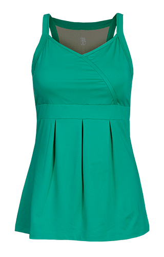 Brielle Racerback Tunic - Sea Glass Green