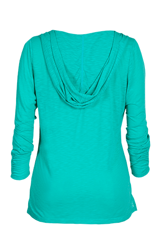 Phillipa Long Sleeve Pullover - Sea Glass Green