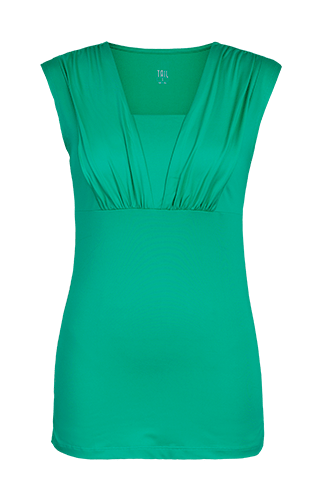 Ashtanga U-Neck Tank - Sea Glass Green - FINAL SALE