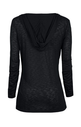 Phillipa Long Sleeve Pullover - Black