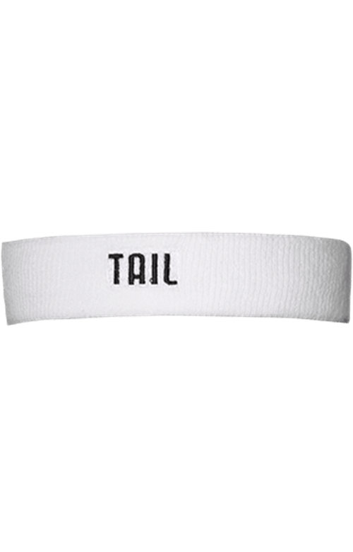 White Performance Headband