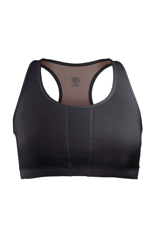 Mila Racerback Bra - Black - FINAL SALE