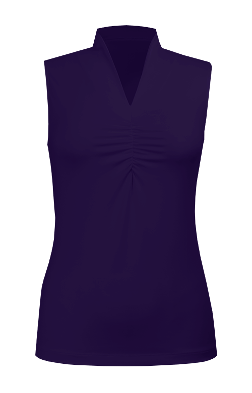Malibu Purple Sleeveless Top