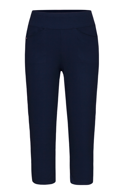 Horizon Navy Blue Capri