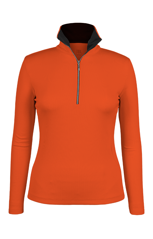 Kate Orange/Black Pullover