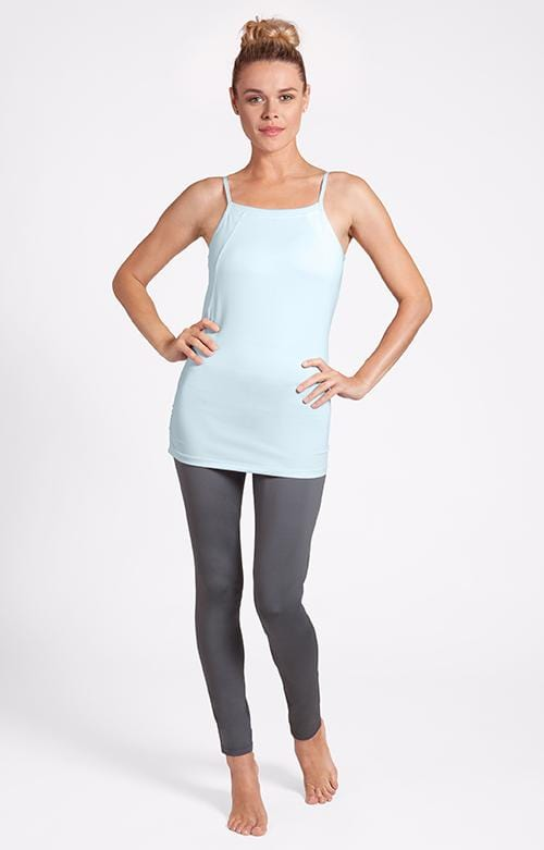 Cassia Strappy Hydrangea Blue Tank - FINAL SALE