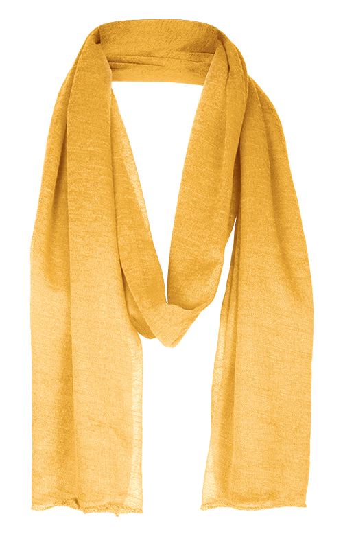 Yellow Stadium Scarf