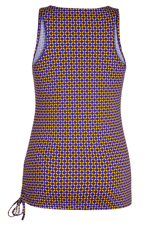 Emmy Byzantine Purple and Gold Top