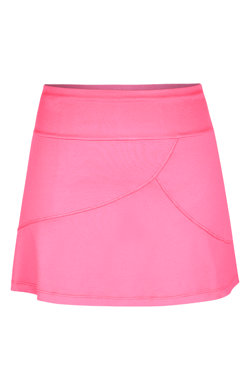 Salome Skort - Electric Rose