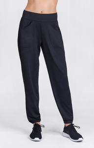 Lettie Jogger Pants -  Black